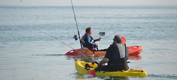 Kayaking Fisherman - Love the water, my yak and my fishing rod!