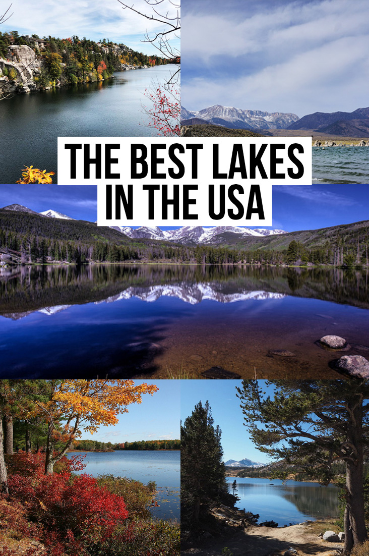Best Lakes in the US | USA Lakes | US Lakes in Winter | US Lakes in Summer | National Park Lakes | Best Kayaking Lakes | Best Fishing Lakes