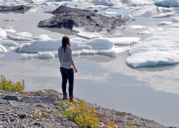 Knik Glacier USA Lakes