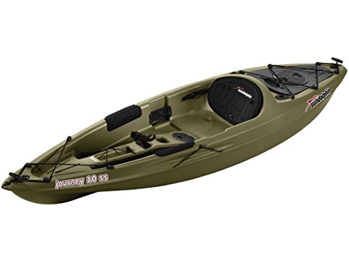 Sun Dolphin Journey 10 Foot Sit On Top Fishing Kayak For